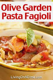 olive garden olive garden pasta fagioli copycat recipe living on a dime