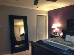 This Deep Purple Accent Wallgrey Walls Is Close To What I Have In - Deep purple bedroom ideas