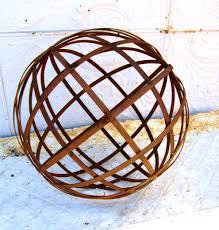 Garden Sphere Balls Decoration Glamorous Custom Made Metal Garden Sphere Sculptures