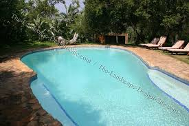 swimming pool landscaping pictures