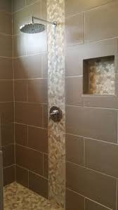 White Pebble Tiles Bathroom - shower pebble tiles beautiful concrete shower floor no tile