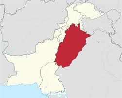 Punjab Map File Punjab In Pakistan Svg Wikimedia Commons