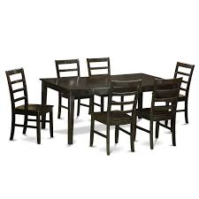 Solid Wood Dining Room Chairs by 6 Piece Dining Room Sets Best Dining Room Furniture Sets Dining
