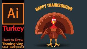 cartoon turkeys for thanksgiving drawing a cartoon turkey for thanksgiving card adobe illustrator