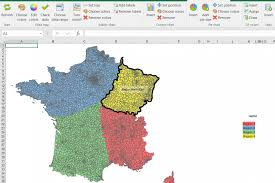 Map France by Maps For Excel Com U2013 Excel Maps
