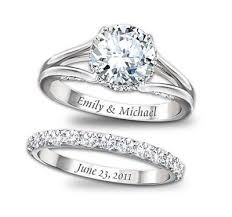 engraving engagement ring 15 name engraved ring designs that are for wedding season