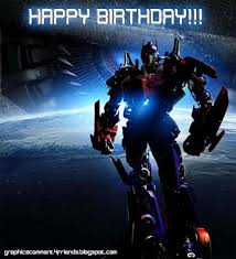 transformer birthday transformers birthday cards