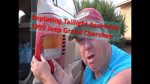 2004 jeep grand cherokee tail light assembly oops replacing tail light assembly 1999 2004 jeep grand cherokee