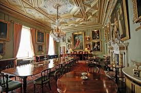 Grand Dining Room The Grand Dining Room Inside Syon House Editorial Image Image Of