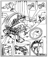 new volkswagen beetle engine where is the air conditioner low pressure service port located on