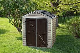 Suncast Resin Glidetop Outdoor Storage Shed by Amazon Com Palram Skylight Storage Shed 6 U0027 X 5 U0027 Garden U0026 Outdoor