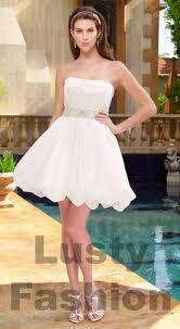 Short White Wedding Dresses Red And White Wedding Dresses 4 Lustyfashion