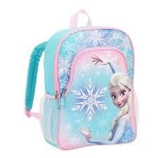 elementary backpack disney frozen elsa girls bag books