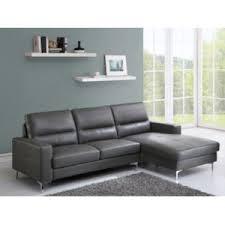 vente unique canapé cuir vente unique canapé d angle en cuir flynn gris angle droit