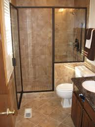 interior design small traditional italian open shower bathroom