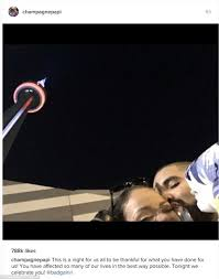 Wildfire Ft Drake by Drake Leans In To Kiss Rihanna As He Presents Her With Vanguard