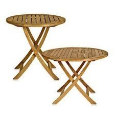 teak folding tables foter