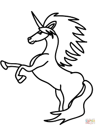 unicorn coloring pages free coloring pages