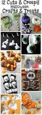 Cute Halloween Craft by 12 Cute U0026 Creepy Halloween Crafts U0026 Treats Work It Wednesday