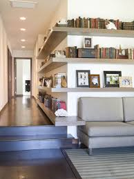 Hanging Wall Bookshelves by Elegant Hanging Wall Book Shelves As Your Family Room Inspirations