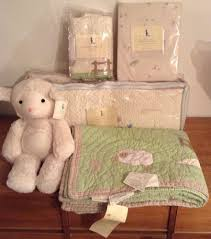 Pottery Barn Kids Baby Bedding New Pottery Barn Kids Chamois Lambie Sheep Crib Bedding U0026 5 Feet