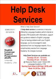 Service Desk Level 1 Announcement