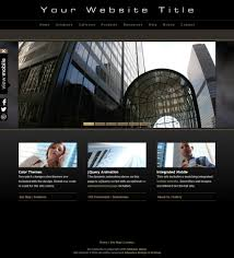 volvo website html photography website template a04 black and mobile version