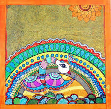 indian traditional paintings madhubani rajasthan and tanjore