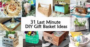 last minute gift baskets same 31 last minute diy gift basket ideas pretty handy girl