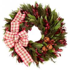 beauteous christmas wreaths ideas featuring unusual leaves garland