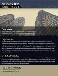 Architectural Resume Examples by Free Resume Templates In Word Free Resume Templates Modern Resumes