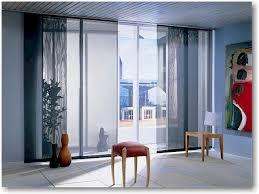 sliding panel window treatments home design inspirations