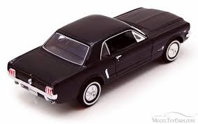 1964 Black Mustang 1964 1 2 Ford Mustang Coupe Black Welly 22451 1 24 Scale