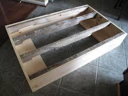 industrial cart pallet wood coffee table hometalk