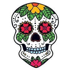 garden sugar skull temporary taintedtats