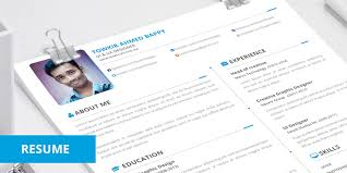 Cute Resume Templates 25 Best Free Professional Cv Resume Templates 2014