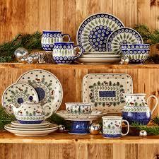 polish pottery christmas tree shops andthat