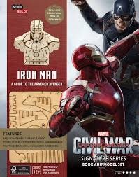 incredibuilds marvel u0027s captain america civil war iron man