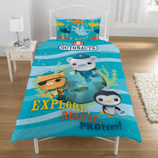 Childrens Single Duvet Covers Octonauts Bed Sheets 1641