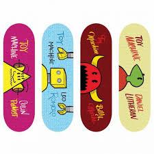 Tech Deck Blind Skateboards Tech Deck 96mm Fingerboard 4 Pack Toy Machine Series Funtastic