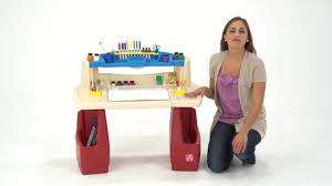Kids Activity Desk by Step2 Deluxe Art Master Desk Video Gallery