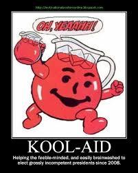 Koolaid Meme - kool aid barack hussein obama parody funny motivationalpos flickr
