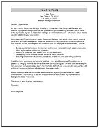 cover letter examples for resume manager cover letter resume