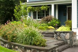 Formal Front Yard Landscaping Ideas - steps and stairs in garden and landscape design