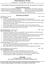 Sample District Manager Resume Business Manager Resume Sales Management Lewesmr With Sample For