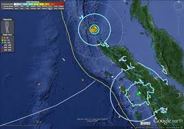 Usgs Real Time Earthquake Map Zone Offshore Of Sumatra