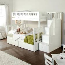 Wooden Bunk Bed With Stairs Toddler Bed With Stairs Compact And Affordable Wood Bunk Bed With