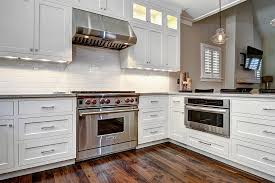 custom white kitchen cabinets robert paige cabinetry custom shaker home kitchen cabinets project