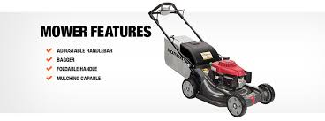 honda 21 in variable speed 4 in 1 gas self propelled mower with