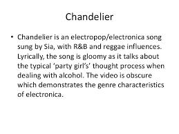 Chandelier Lyric Chandelier